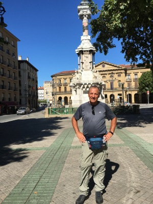 Monument to Fueros of Navarre