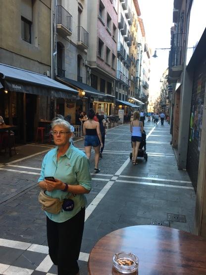 The street where the bulls run every July