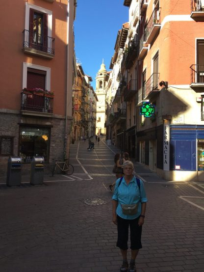 Walking back to our hotel... Catedral in background
