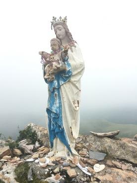 Vierge de Biakorri up close